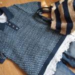 アドバンス ポロカラーセーター