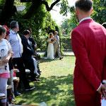 Trauzeremonie von Melmo & David - Hofgut Rothöfe, Köngen - Foto von Lena Engel (www.lena-engel.de)