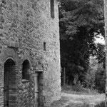 Vicino a Monteriggioni Siena