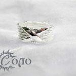 """кольцо """"Х-трос"""" - 630 руб."""