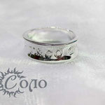 """кольцо """"Надпись"""" - 630 руб."""