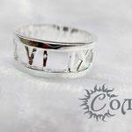 """кольцо """"Циферблат сквозной"""" - 630 руб."""