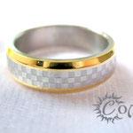 """кольцо """"Шахматка"""" - 530 руб."""