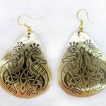 Серьги «Жар-Птицы» - 600 руб.  На серьгах Парные птицы - брачная символика в стиле кельтских орнаментов.