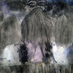 Walpurgisnacht - 29,7 x 21 cm - 1990 - Aquarell/Mischtechnik