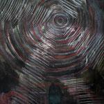 Das dunkle Licht - 28 x 20 cm - 1994 - Mischtechnik - Malerei auf Papier