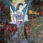 Goddessa - 47,5 x 36 cm - 2006 - Mischtechnik - Malerei auf Papier