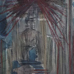 Untitled - 29,7 x 19 cm - 1994 - Aquarell/Mischtechnik