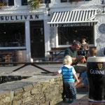 A pint at O'Sullivan's, Crookhaven, Co. Cork