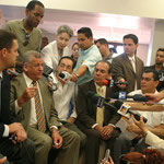 Mayor's press conference (Puerto Rico, 2006)