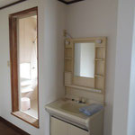 2階洗面所、風呂、トイレ