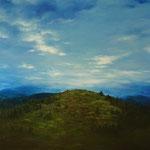 Bergpanorama II (Öl auf Leinwand 80x60)