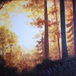 Herbststimmung (Öl 70 x 50)