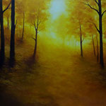 Herbstleuchten (Öl auf Leinwand 120x80)