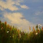 Gräser (Öl auf Leinwand 120x80)