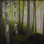 Laubwald (Öl 50 x 40)