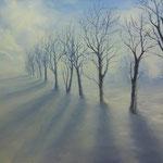 Winterlandschaft II (Öl auf Leinwand 120x80)
