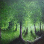 Märchenwald (Öl 70 x 50)