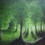 Märchenwald (Öl auf Leinwand 70x50)