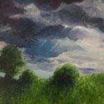 Gewitter (Öl auf Leinwand 70x50)