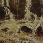 Bach (Öl 50 x 25)