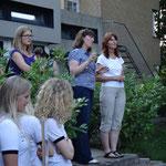 Eröffnungsansprache von Anne Levander und Kirsten Schuster