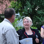 Countryleader Andrea Thorvaldsdóttir aus Island