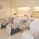 所沢のアトリエピッシュ 美容室 シャンプー室