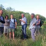 An den alten Fischteichen des Erlenbach