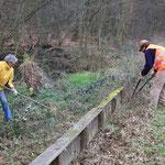 Der Zaun zieht sich, auch für Willi Hildebrandt und Isfried