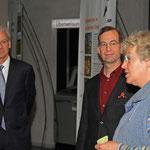 Georg Sellner und Dr. Christian Storm beim Vortrag von  Friededore Abt-Voigt