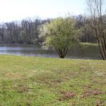 Grube PRinz von Hessen in der Frühlingssonne