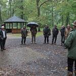 """Begrüßung im """"Regenwald"""""""
