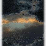 Sonnenuntergang nach Regenschauer - Hergershäuser Wiesen © Jennie Bödeker