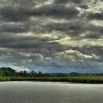 Wolkenhimmel über dem Reinheimer Teich © Jennie Bödeker