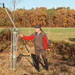 Peter Müllenhoff ist beim Baumschnitt in seinem Element