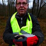 Koordiniert die Arbeit am Ersatzgewässer: G. Schweigert