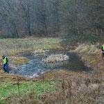 Zwei Drittel des Gewässers sind zu umzäunen