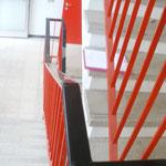 Altbestand PVC Handlauf Hauptkläranlage Wien