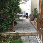Terrasse / Wintergarten Vorher