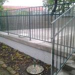 Geländer- Plexiglasverkleidung Kindergarten Wien