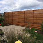Sichtschutzwand Western red Cedar