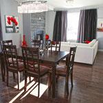 Photos intérieures maison modèle, 220 rue de la Tamise, Faubourg Royal à Pointe-du-Lac