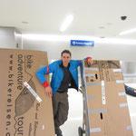Los Angeles Airport: Die Velos sind angekommen