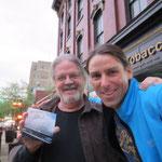 Meeting mit John Langdon, dem Schoepfer des YOUNGER-Logo!