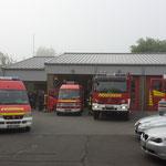 Bereitstellen der Fahrzeuge in Osterrönfeld