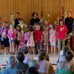 Schlussapplaus beim Kinderkonzert! Domleschger Sommerkonzerte 2012