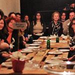 Zuschauer am WG-Tisch, © Le O. Herder