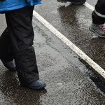 Montag: Es regnet.
