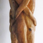 Liebende (Linde, ca. 90 cm)